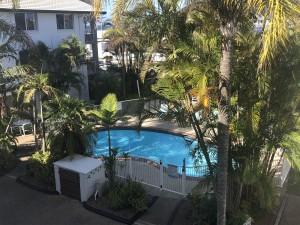 FURNISHED BEACHSIDE UNIT – POOL & TANDEM PARKING