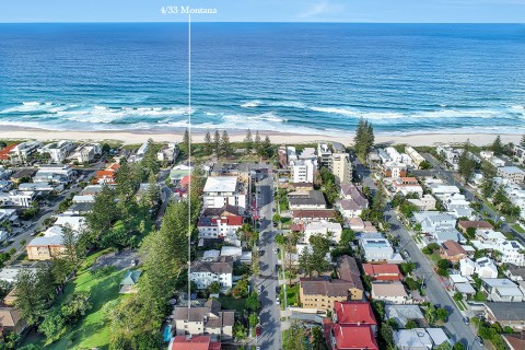 Location! Location!  3 Bedroom Beachside North Easterly Aspect Apartment!