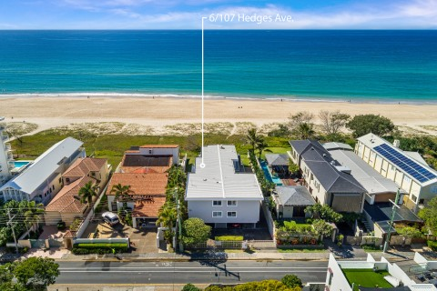 Absolute Beachfront Lifestyle – 'Hedges Millionaires Row' – UNDER CONTRACT
