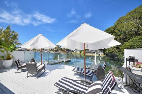 Fully Furnished Dual Living Waterfront Villa